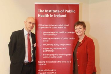 Mary Black - Assistant Director - Public Agency (NI) & Dr. Frank Doyle (RCPI)