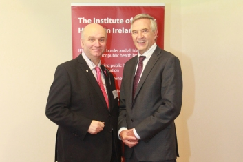 - John McCormack - CEO (Irish Cancer Society) Owen Metcalf - CEO Institute of Public Health