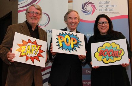 Paul Monks (Volunteer and Board Member, Clonadakin Citizens Information Centre) John Lonergan (Former Governor Mountjoy Prison) Kerry Anthony MBE & CEO Depaul