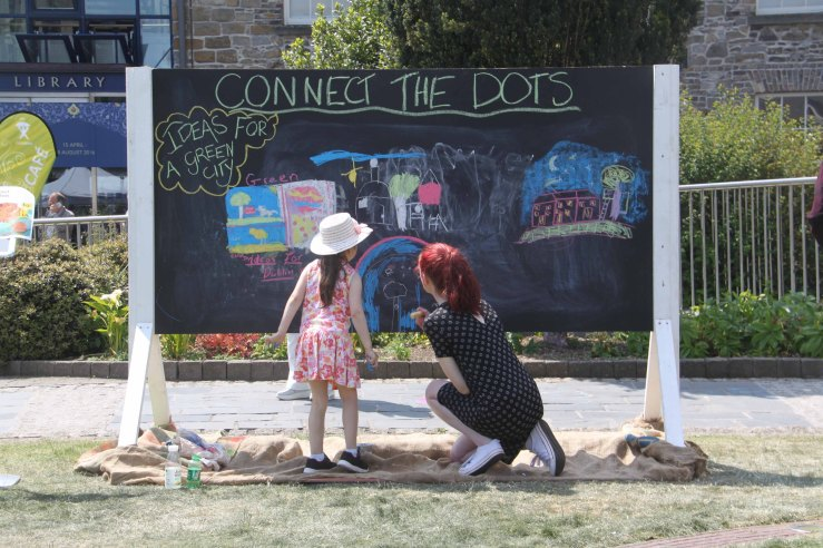 Connecting Dots Festival #bloomingbunting #connectingthedots