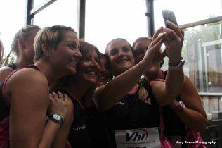 Pink Ladies Running Club - Temple Street, WMM 2016