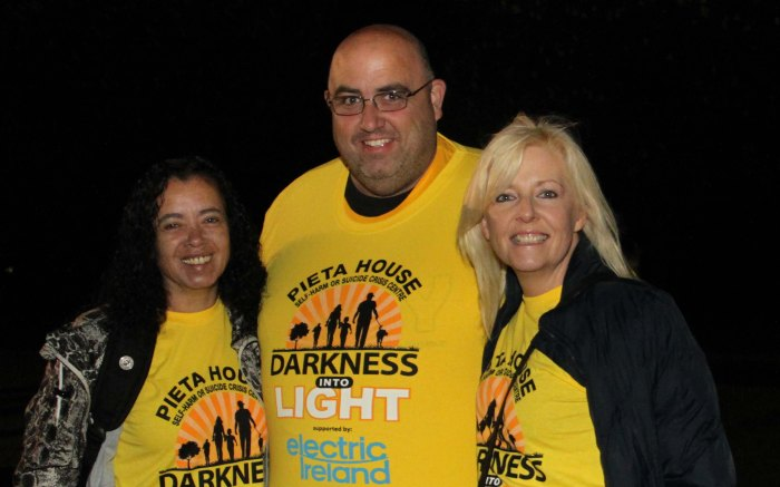 Pieta House, Darkness to Light