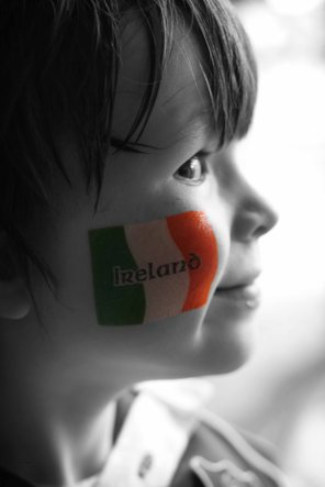 The face of Ireland